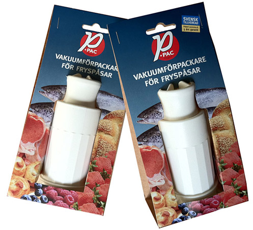 P-pac vakuumförpackare